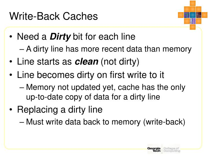 Write-Back Caches