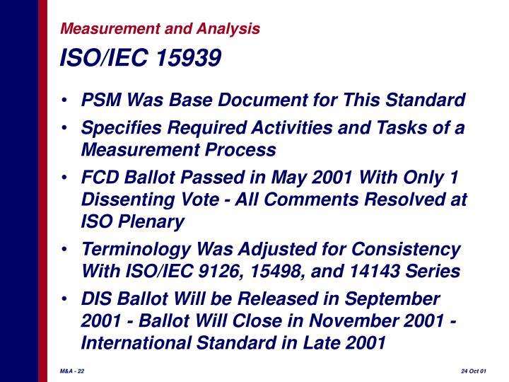 ISO/IEC 15939