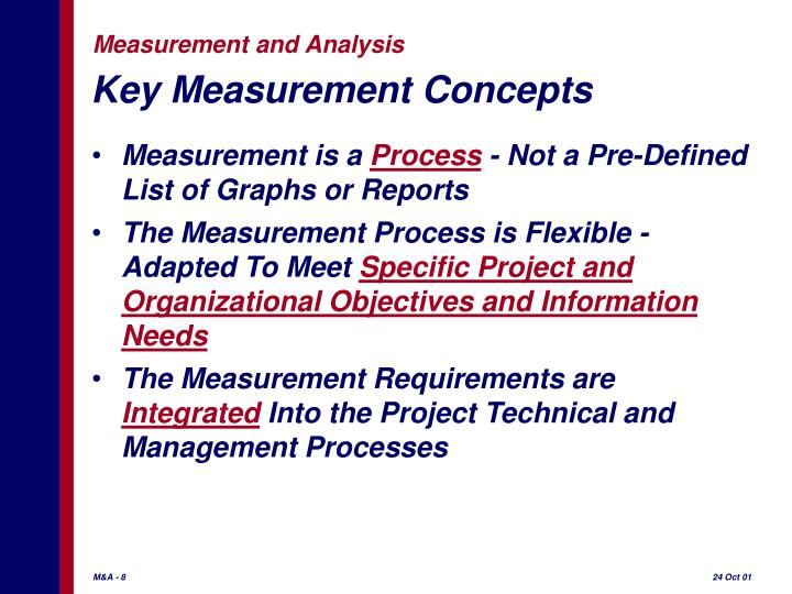 Key Measurement Concepts