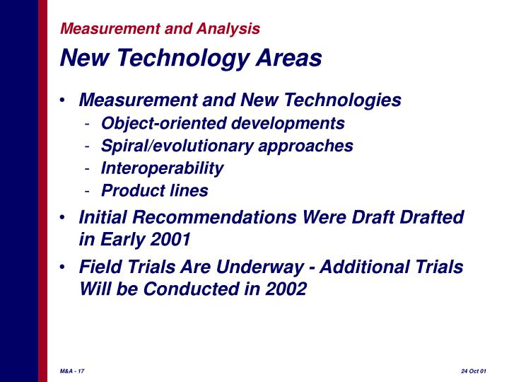 New Technology Areas
