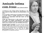 amizade ntima com jesus amor misericordioso