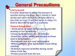 general precautions1