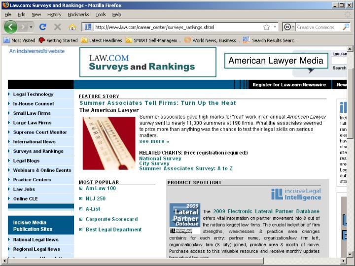 American Lawyer Media