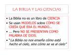 la biblia y las ciencias1