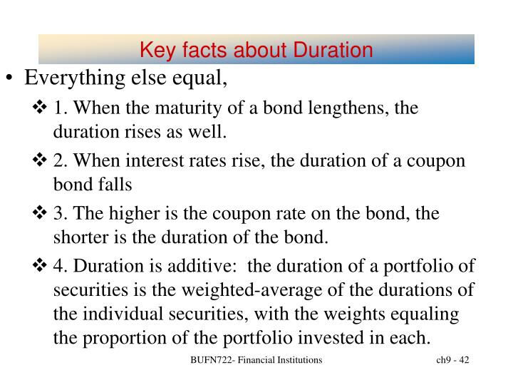 Key facts about Duration