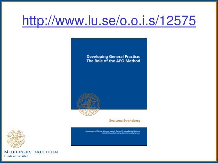 http://www.lu.se/o.o.i.s/12575