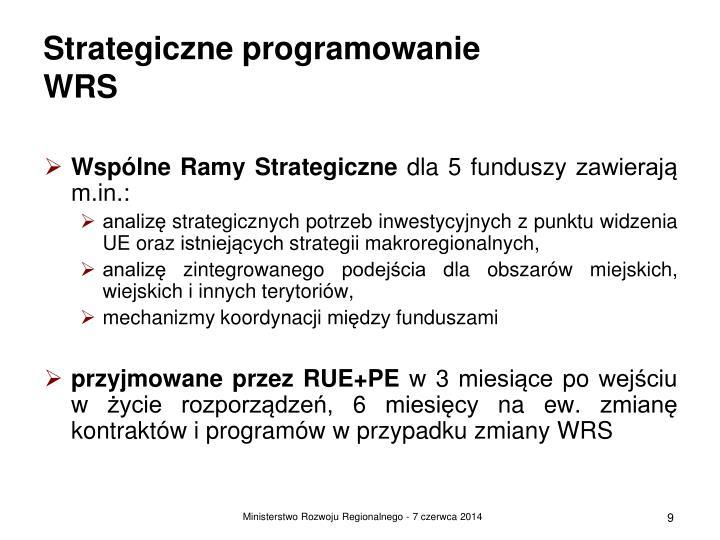 Strategiczne programowanie