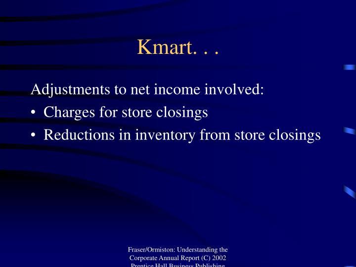 Kmart. . .