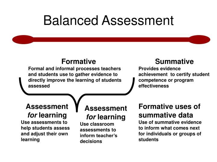 Balanced Assessment