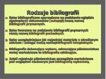 rodzaje bibliografii6