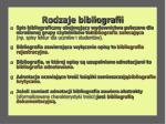 rodzaje bibliografii7