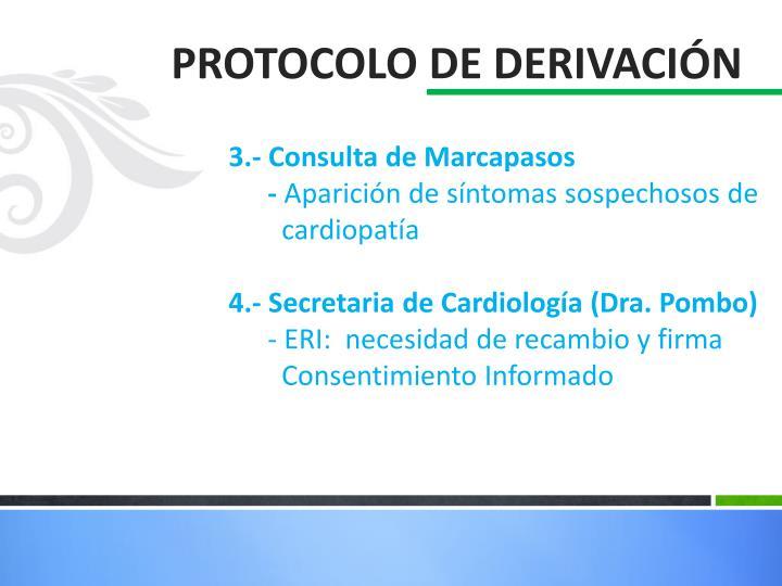3.- Consulta de Marcapasos