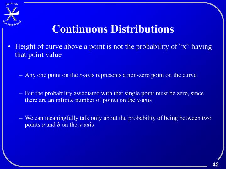 Continuous Distributions