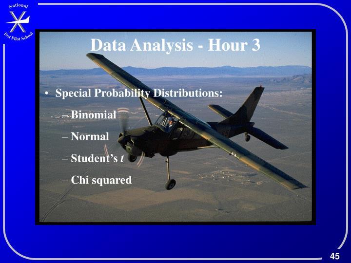 Data Analysis - Hour 3
