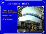 data analysis hour 5