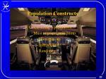 population constructs