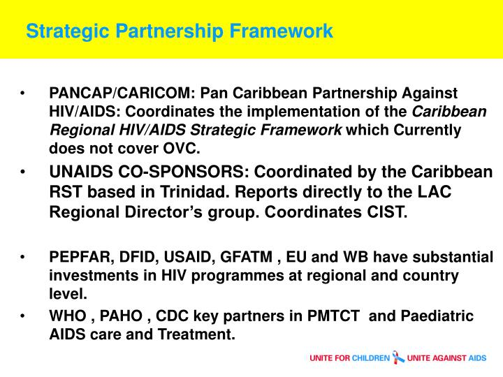 Strategic Partnership Framework