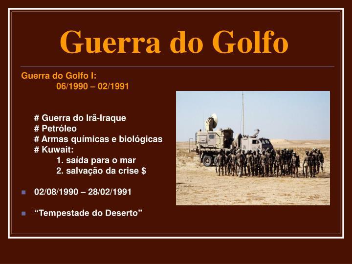 Guerra do Golfo I: