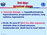 3rd day terminal stage