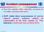 accident consequences