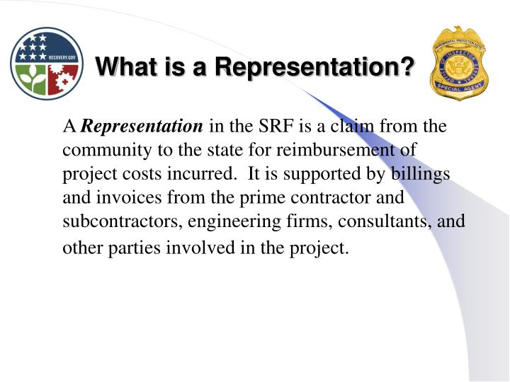 What is a Representation?