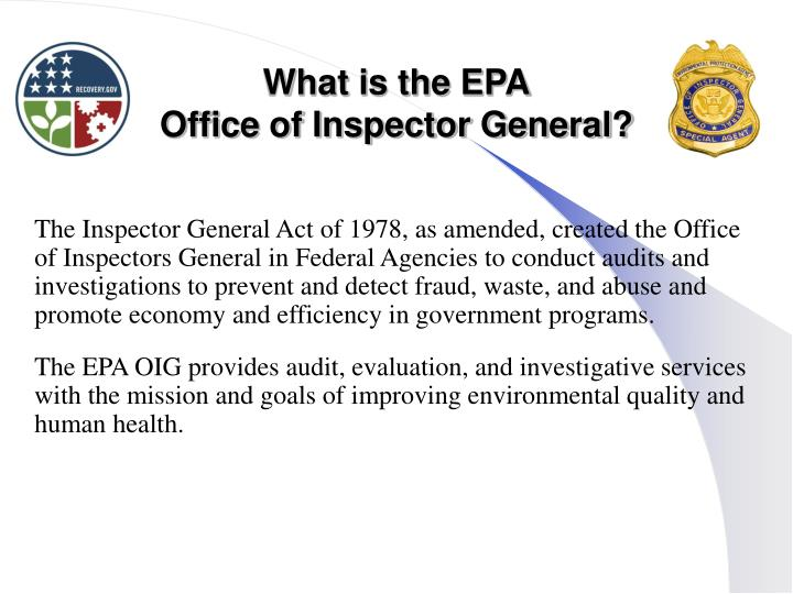 What is the EPA