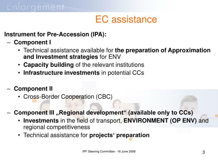 EC assistance