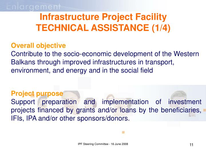 Infrastructure Project Facility TECHNICAL ASSISTANCE (1/4)