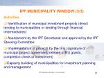 ipf municipality window 3 3