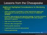 lessons from the chesapeake4