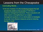 lessons from the chesapeake5