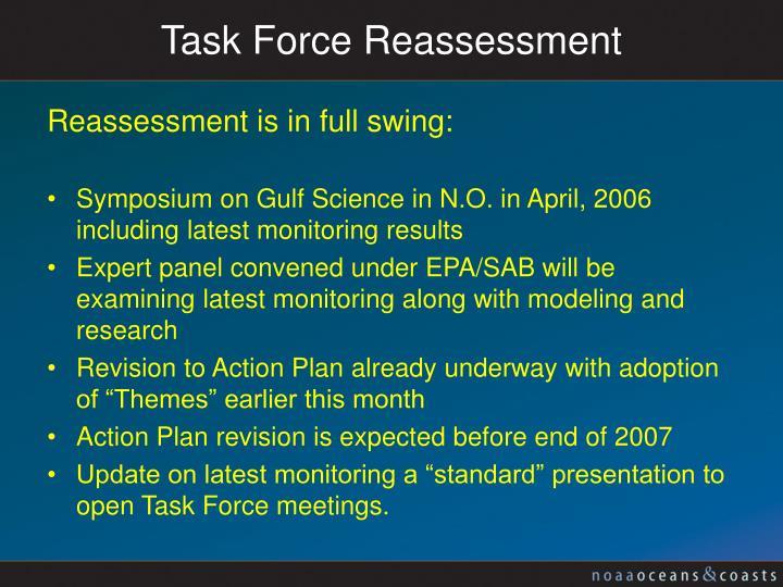 Task Force Reassessment