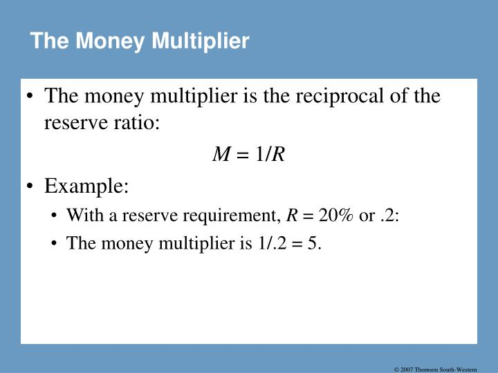 The Money Multiplier