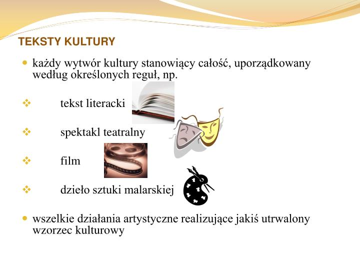 TEKSTY KULTURY