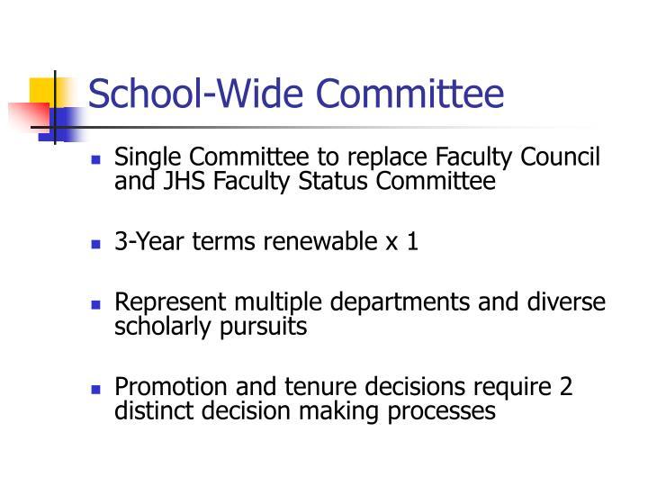 School-Wide Committee