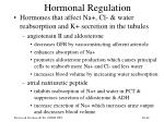 hormonal regulation