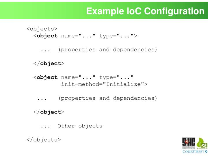 Example IoC Configuration