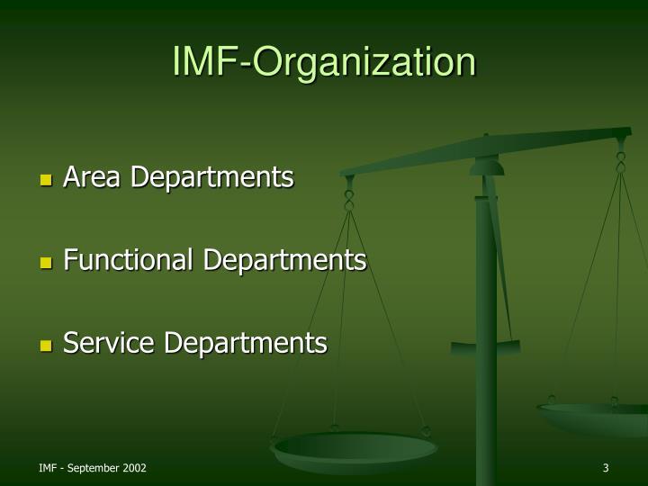 IMF-Organization