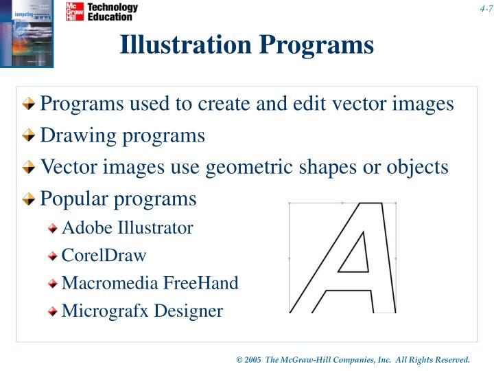 Illustration Programs