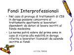 fondi interprofessionali