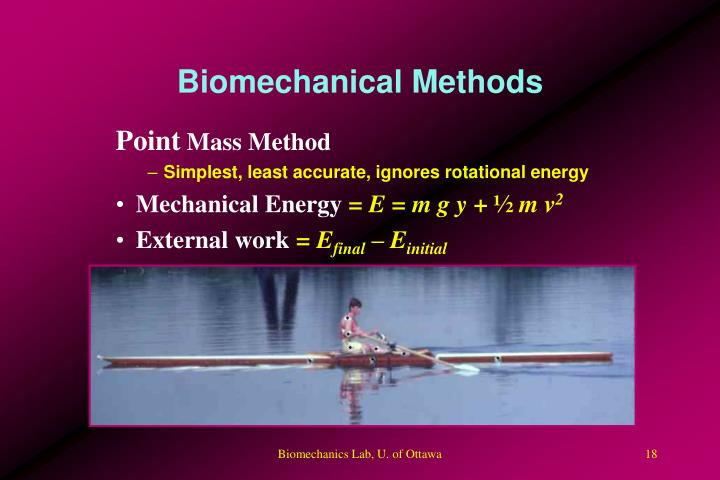 Biomechanical Methods