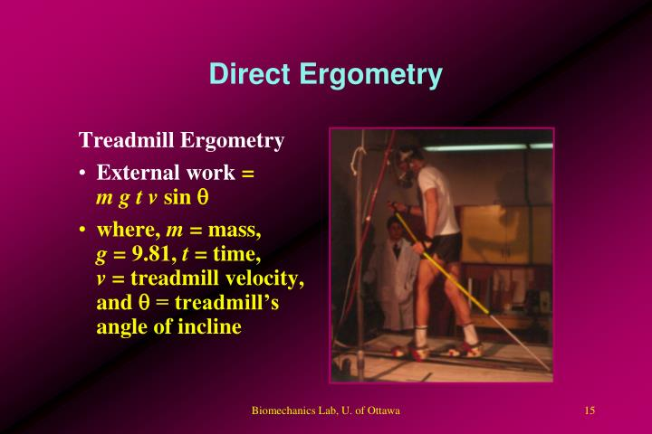 Direct Ergometry