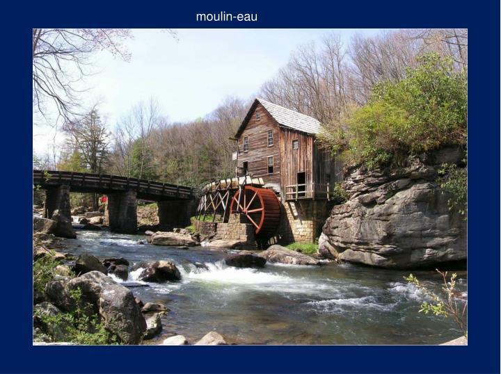 moulin-eau