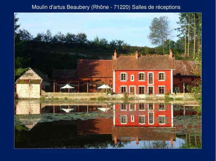 Moulin d'artus Beaubery (Rhône - 71220)