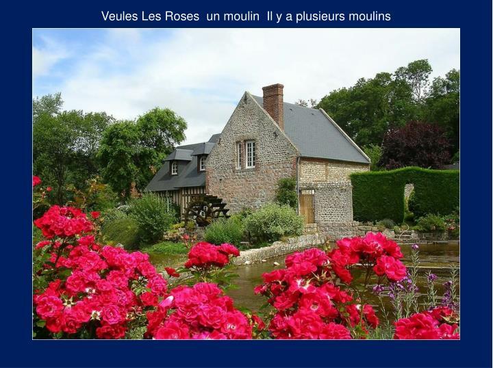Veules Les Roses  un moulin  Il y a plusieurs moulins