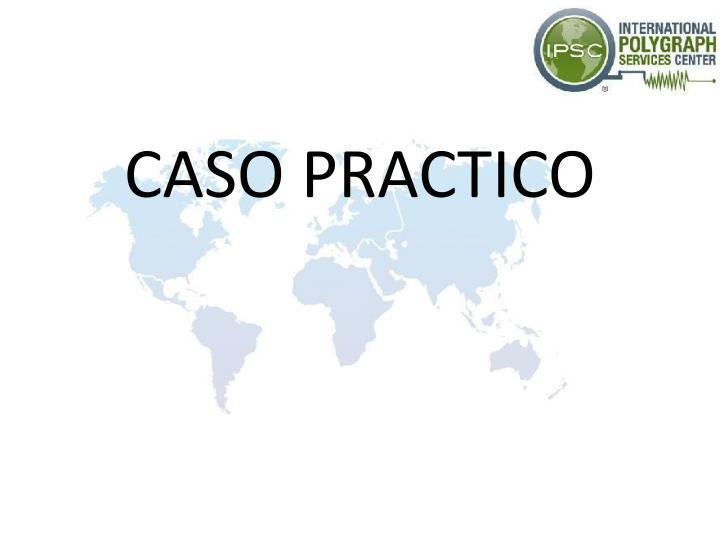 CASO PRACTICO