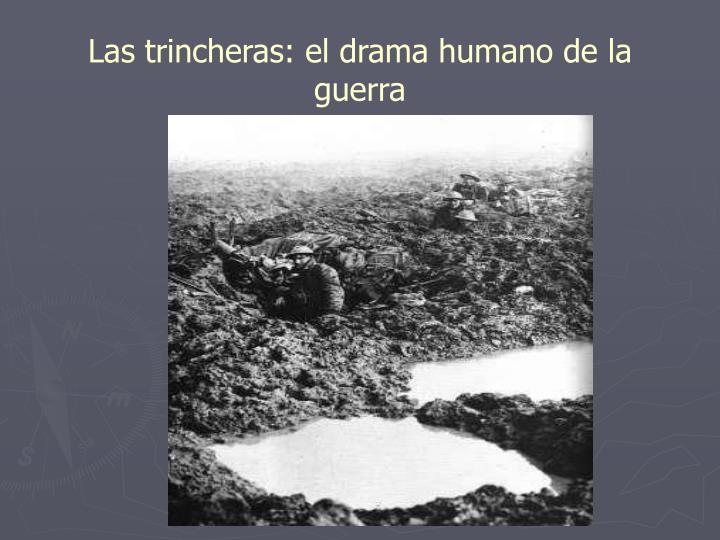 Las trincheras: el drama humano de la guerra