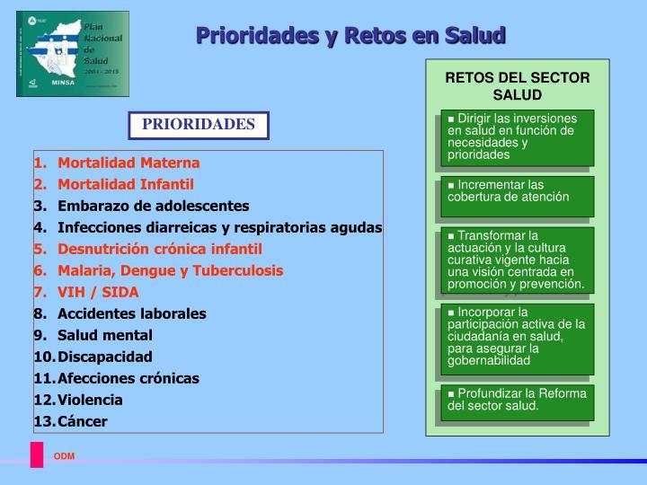 Prioridades y Retos en Salud