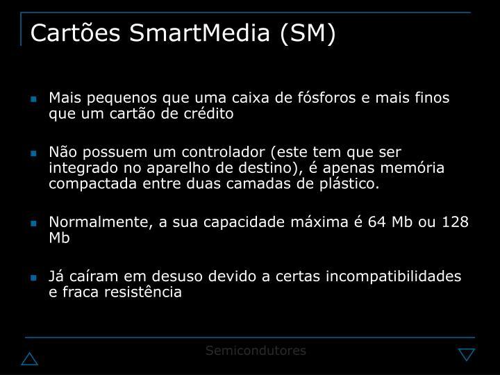 Cartões SmartMedia (SM)