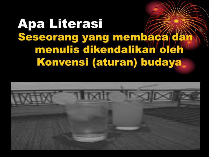 Apa Literasi